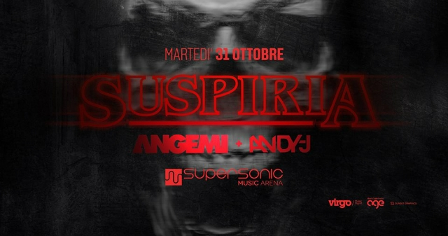 suspiria halloween party locandina