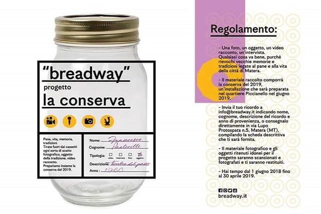 breadway, la conserva