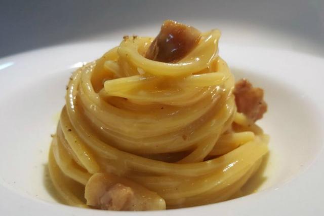 perpetual ristorante roma nuovo menù spaghetti carbonara