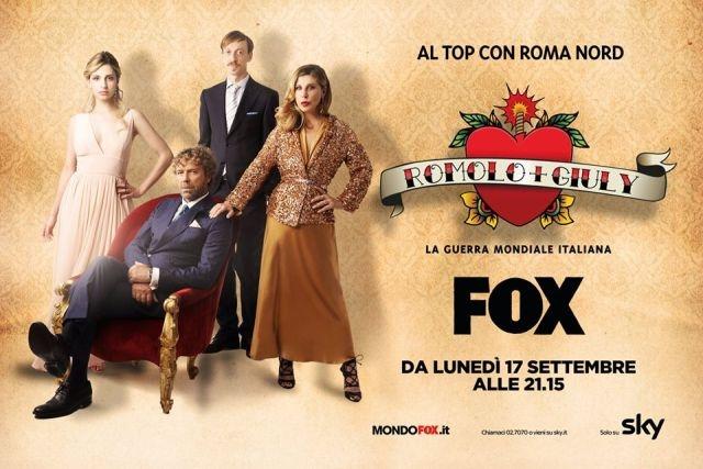 romolo + giuly serie tv