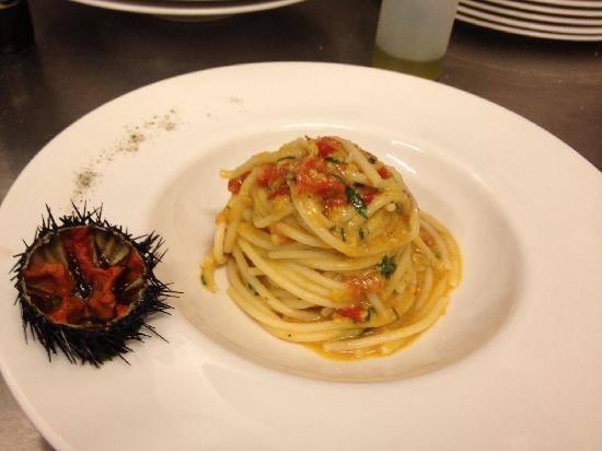 romanazzi's spaghetti riccio