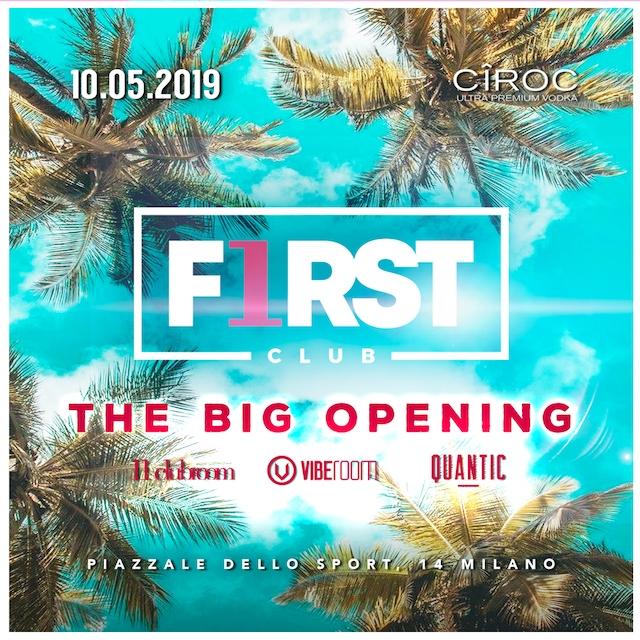 first club foto inaugurazion 10 maggio 2019