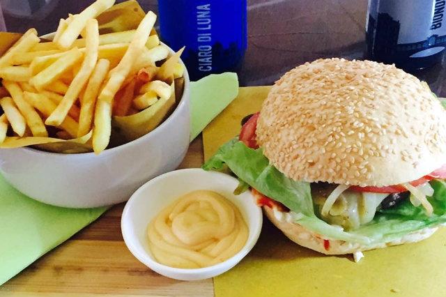 burger vegetariano veneto