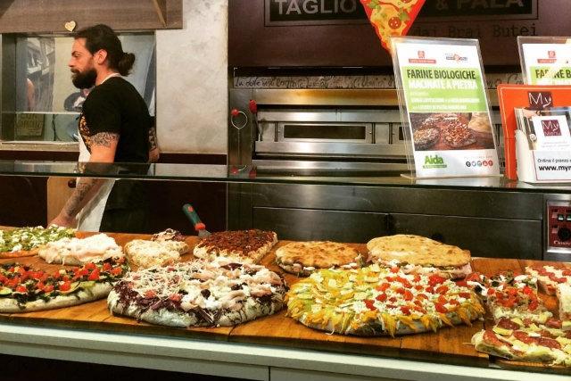 pizza al trancio veneto