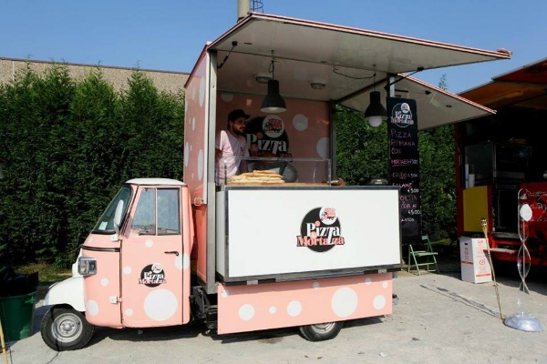 pizza e mortazza street food camioncino itinerante pranzo classifica migliori 10 pizze con la mortadella di roma