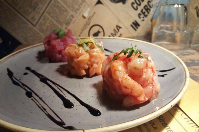 porto fish & chips ristoranti prati roma cena a prati pesce fresco low cost fritto pesce crudo tartare