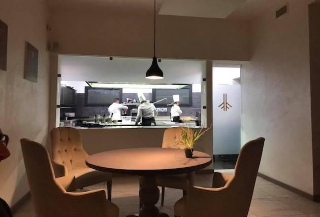 cucina a vista radici