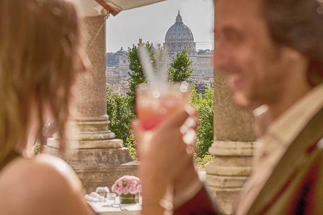 cena romantica per due d'estate casina valadier
