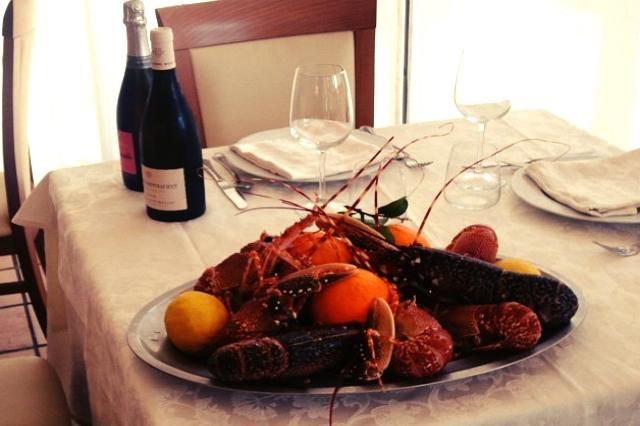 ristorante cacciatori nettuno pesce aragosta frutti di mare migliori ristoranti sul mare di roma