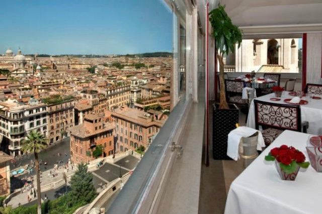 Stunning Ristorante Le Terrazze Roma Gallery - Idee Arredamento Casa ...