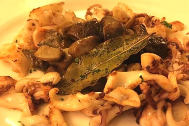 ristorante evangelista menù celiaci calamari roma