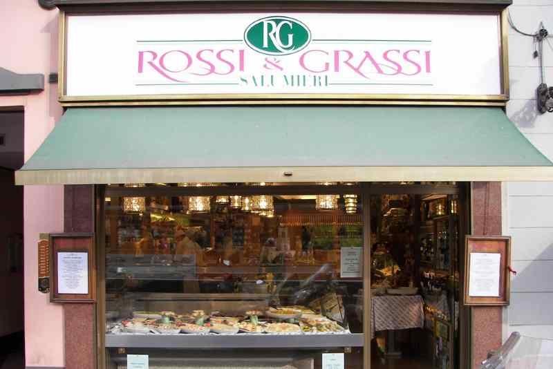 milano gastronomia rosticceria piatti gourmet salumi affettati asporto take away pasta ripiena pasta fresca rossi&grassi