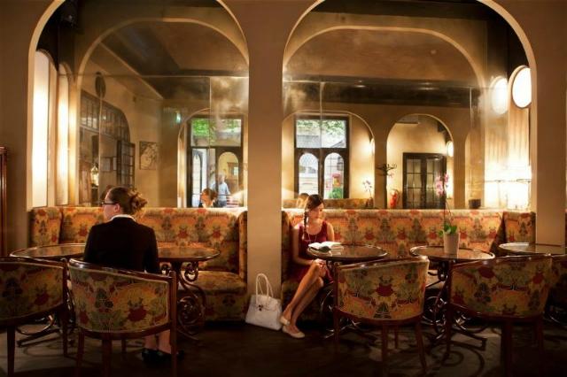 caffè hotel locarno roma centro storico liberty anni 20 aperitivo migliori caffè roma
