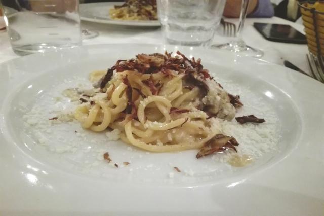 meat carbonara carciofi ristorante ebraico romanesco roma intervista team marco piperno
