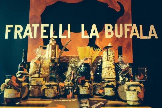 mangiare al centro commerciale roma fratelli la bufala