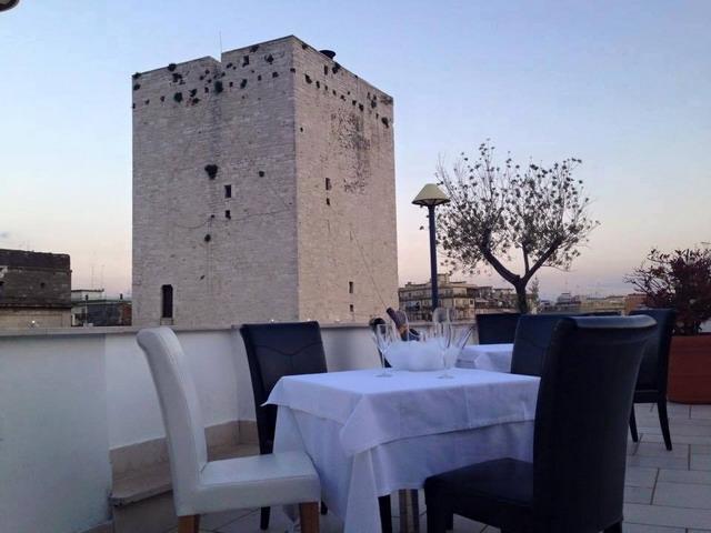 palazzo bonomi roof garden bisceglie puglia vista panoramica
