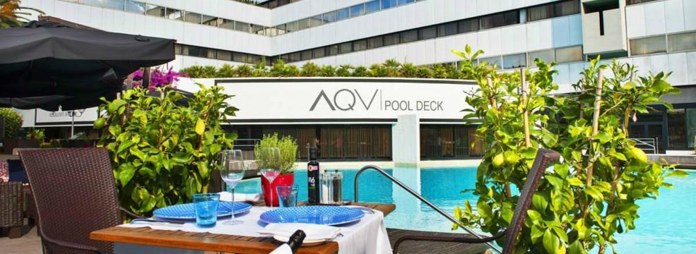AQVI eur pool restaurant and bar