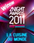 vincitore nazionale la cuisine du monde 2011