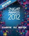 vincitore nazionale la cuisine du monde 2012