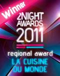 vincitore regionale la cuisine du monde 2011