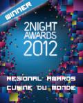 vincitore regionale la cuisine du monde 2012