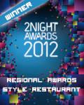 vincitore regionale style restaurant 2012