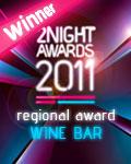 vincitore regionale wine bar 2011