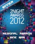 vincitore regionale wine bar 2012