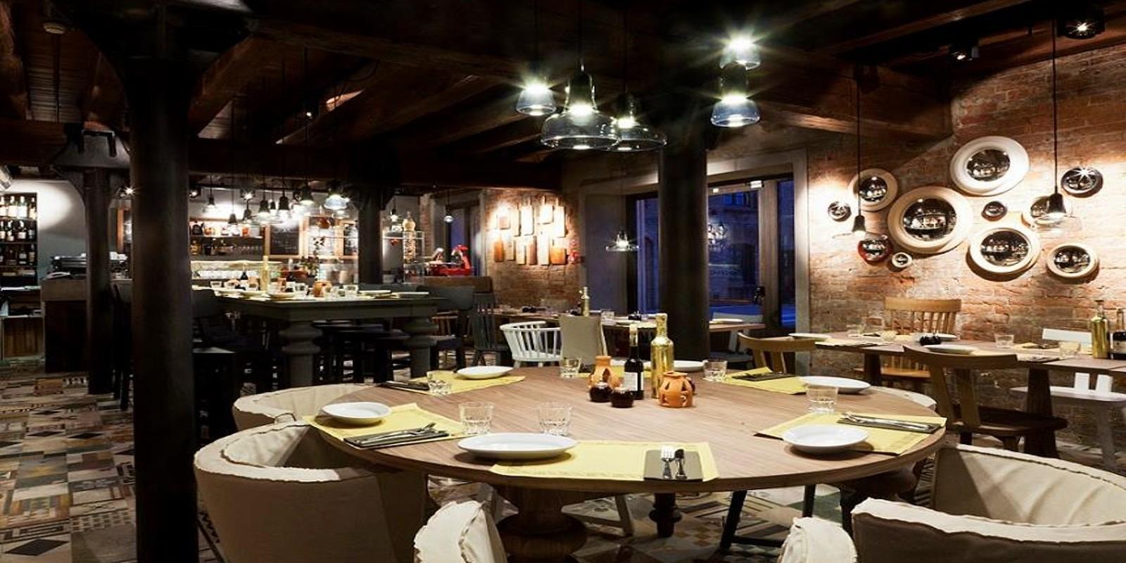 I ristoranti di venezia col design pi bello for Belli arredamenti